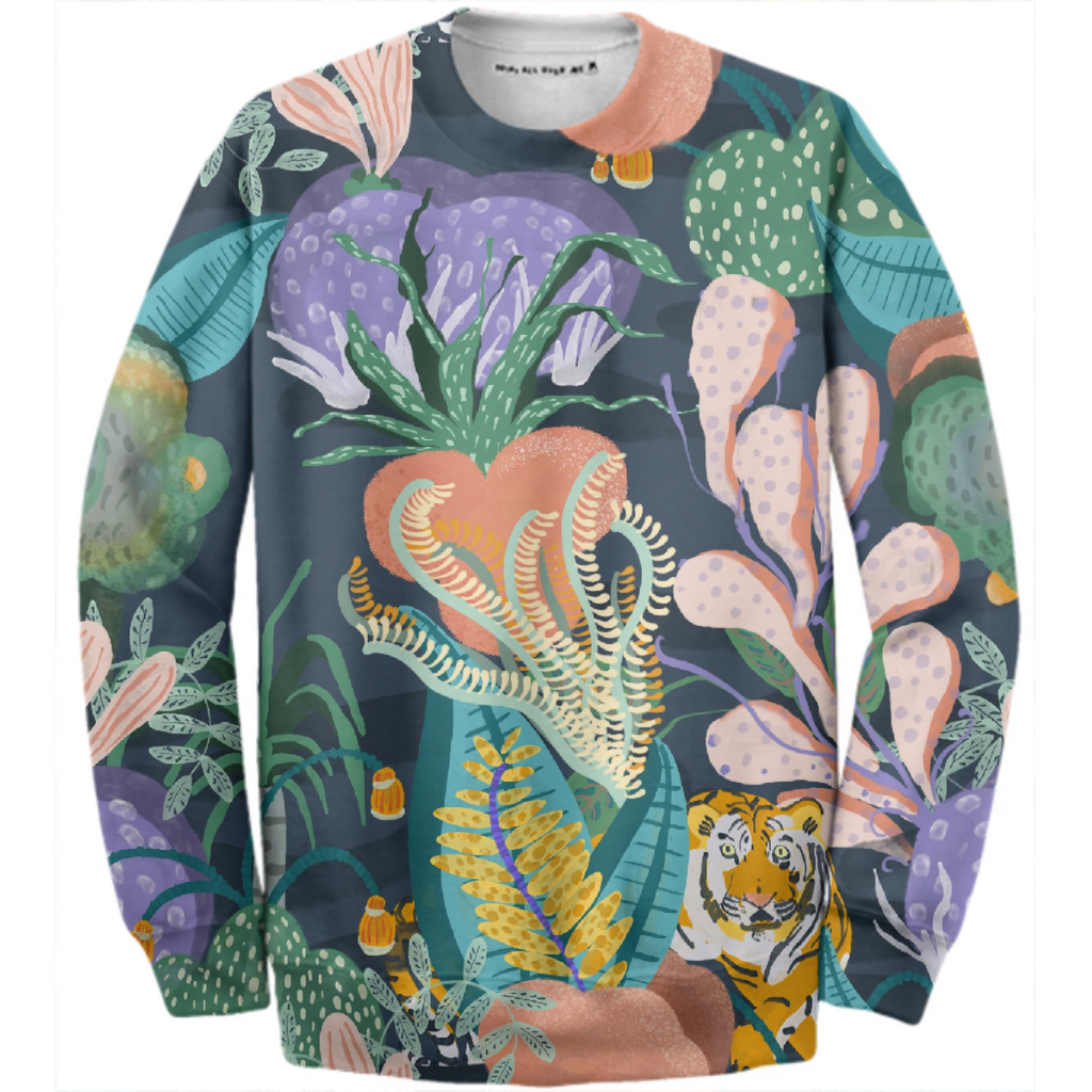 TIGER REEF SWEATSHIRT