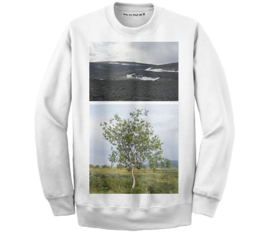 Lapland Cotton Sweatshirt White