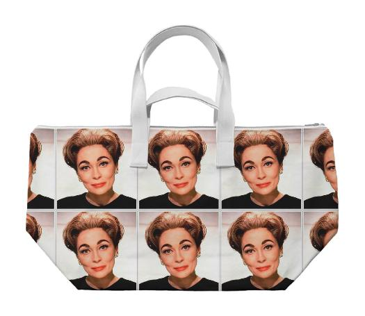 Mommie Dearest Joan weekend bag