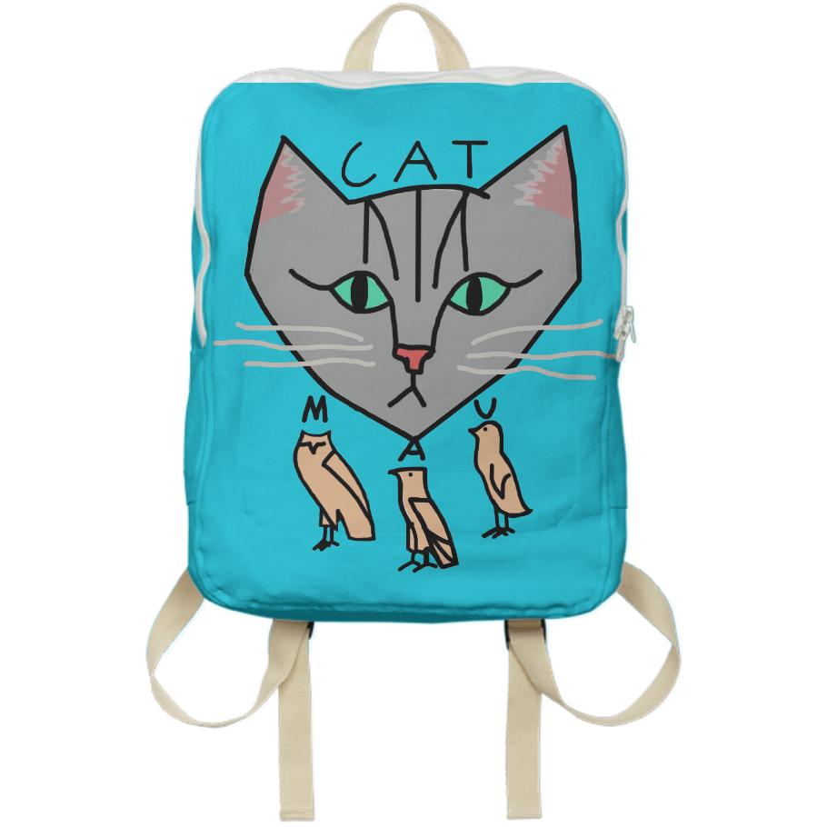 The Cat is Mau Backpack