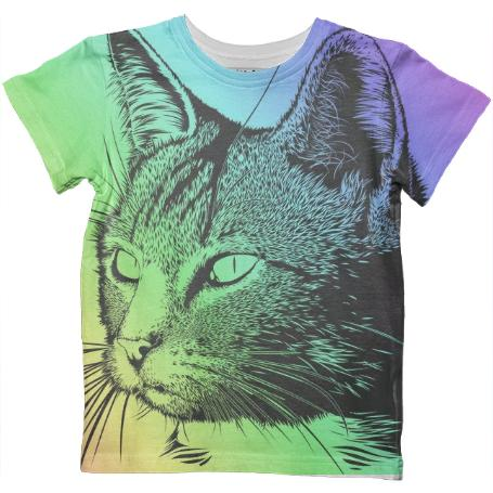 Rainbow Cat for Kids