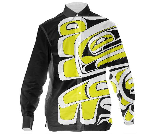 Chilkat Eagle Dress Shirt