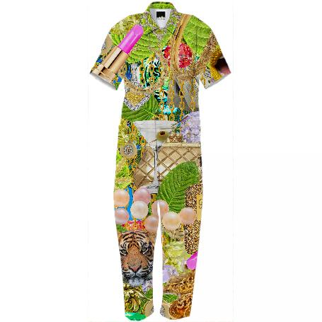 Gabriel Held Collage Jumpsuit