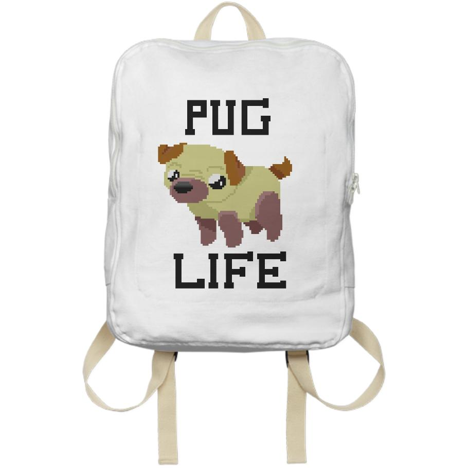 Pug Life backpack