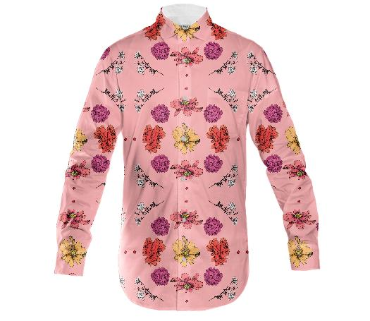 Pink Lil Botany Button Down Shirt