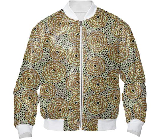 Fever Flowers Bomber Jacket