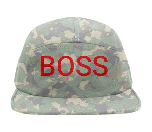 Boss Camo Baseball Hat