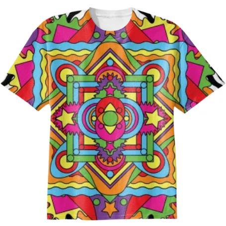 Mandala Cotton T shirt