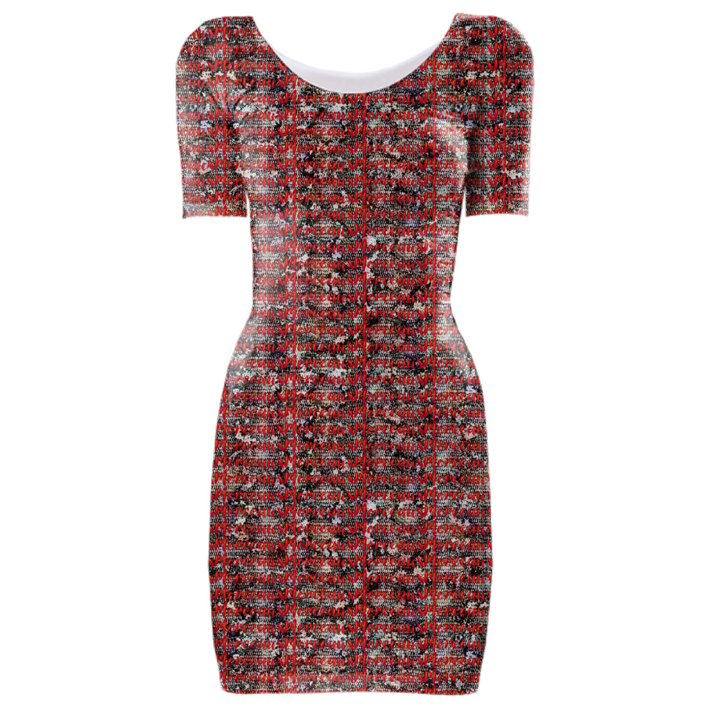 Morceaux Python Logo BodyCon Dress