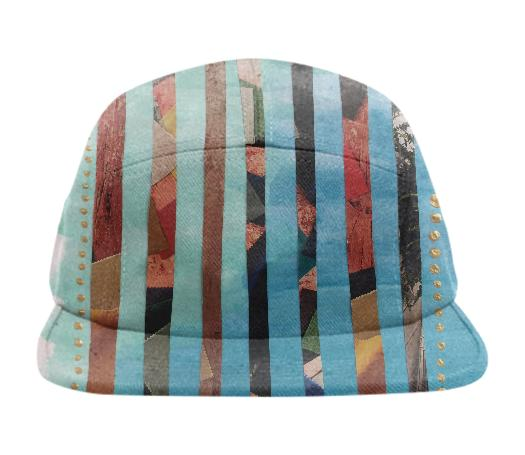 Rainbow Collage Baseball Hat