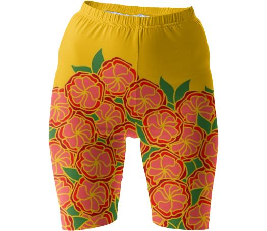 Earthly Delights Bike Shorts
