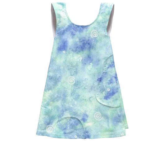 Blue lagoon SSWTR Kids Apron Dress
