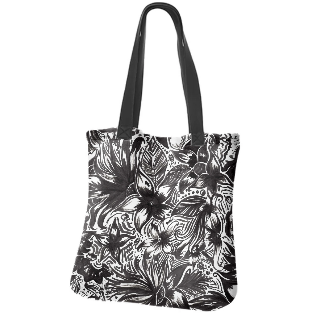 Monochrome Jungle Tote