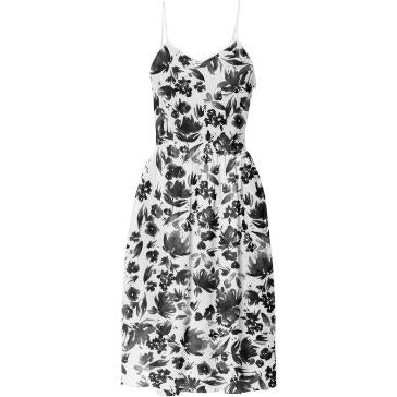 Party Dress Tumbling Blooms