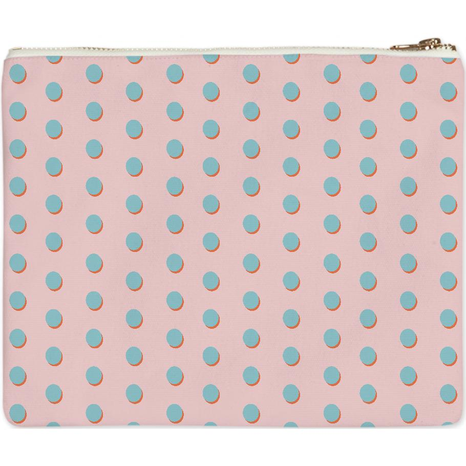 Polka Dot Clutch