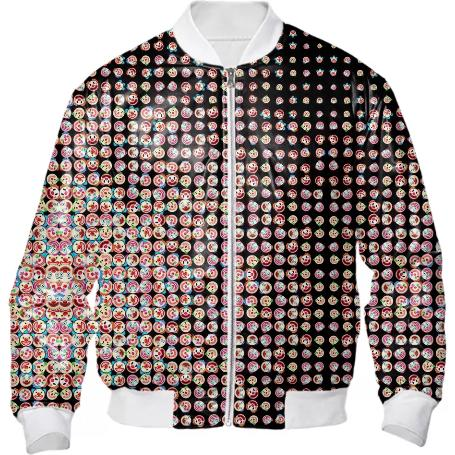 Clown Explosion Bomber Jacket
