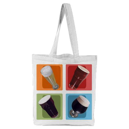 Craft Beer Colors Tote Bag