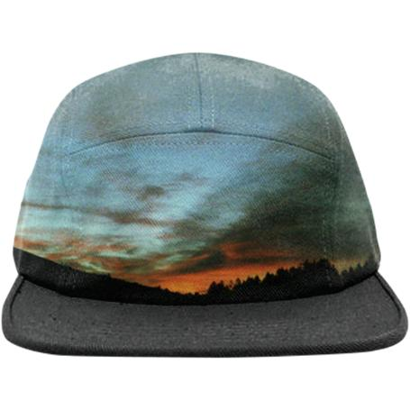 Wyoming Sunset 2 Hat