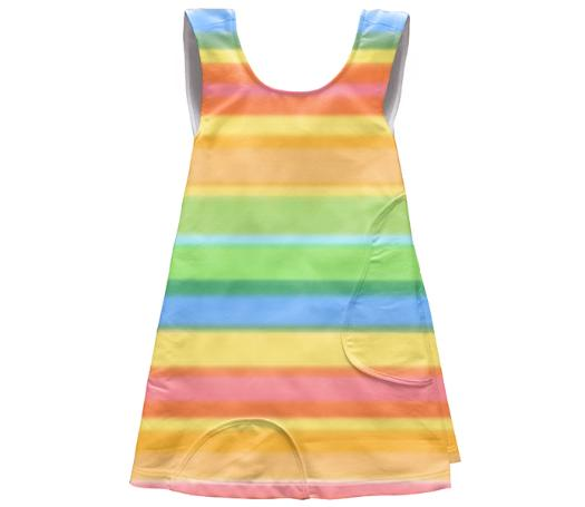 Little Girls Candy Stripe Dress