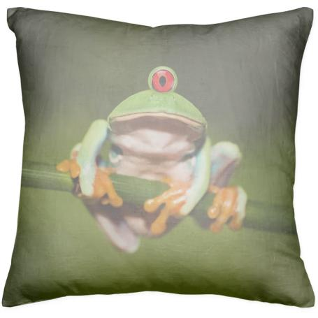 Funny Conceptual Cyclopic Frog