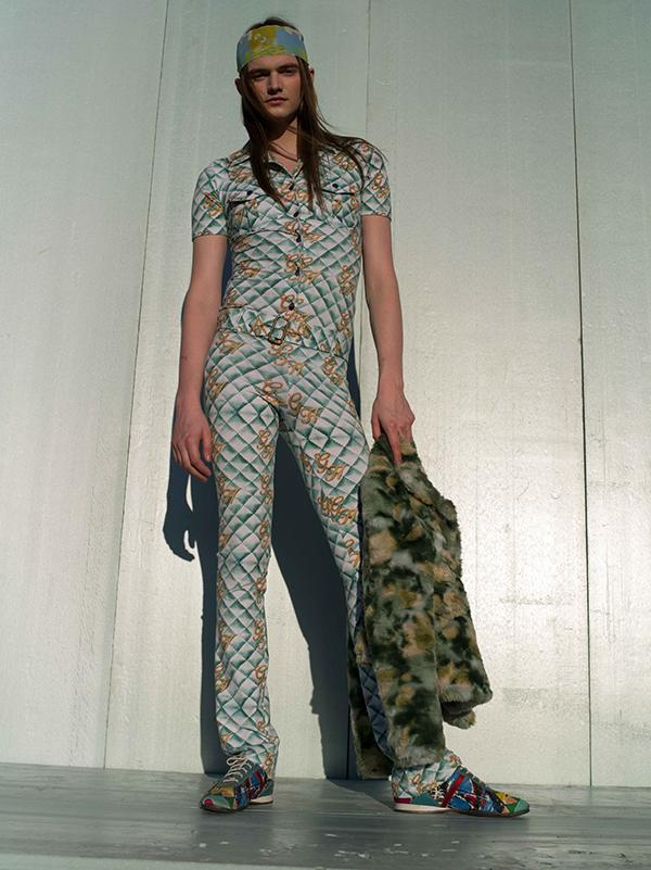 PAOM, Print All Over Me, digital print, design, fashion, style, collaboration, gabrielheld, Gabriel Held Belted Jumpsuit, Gabriel-Held-Belted-Jumpsuit, GabrielHeldBeltedJumpsuit, Quilted, Print, autumn winter spring summer, unisex, Cotton, One Piece