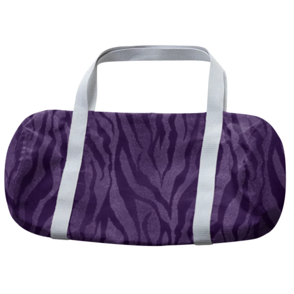 PURPLE TIGER WOMENS DUFFLE