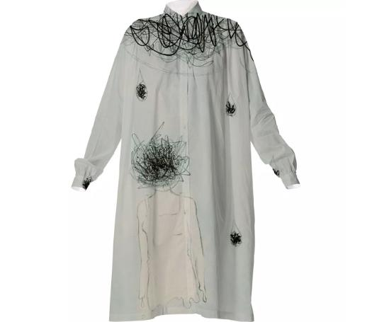 Static Shirt Dress II