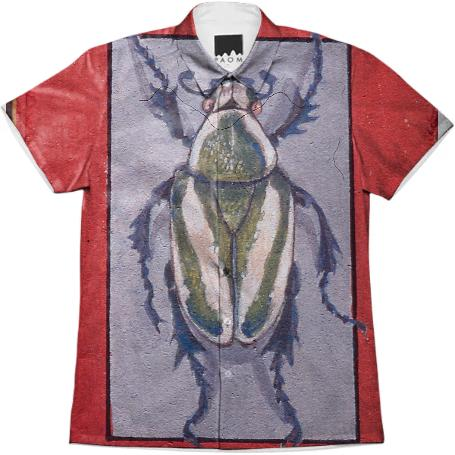 David Beck Book Pretty Beetle Work Shirt