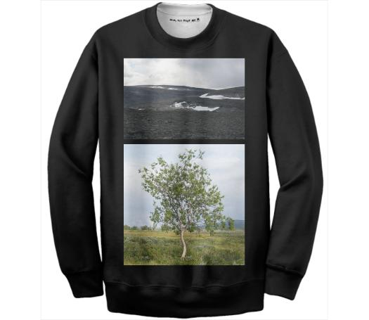 Lapland Cotton Sweatshirt Black