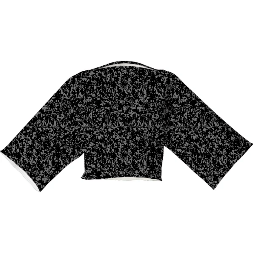 Dark Static Neoprene Top
