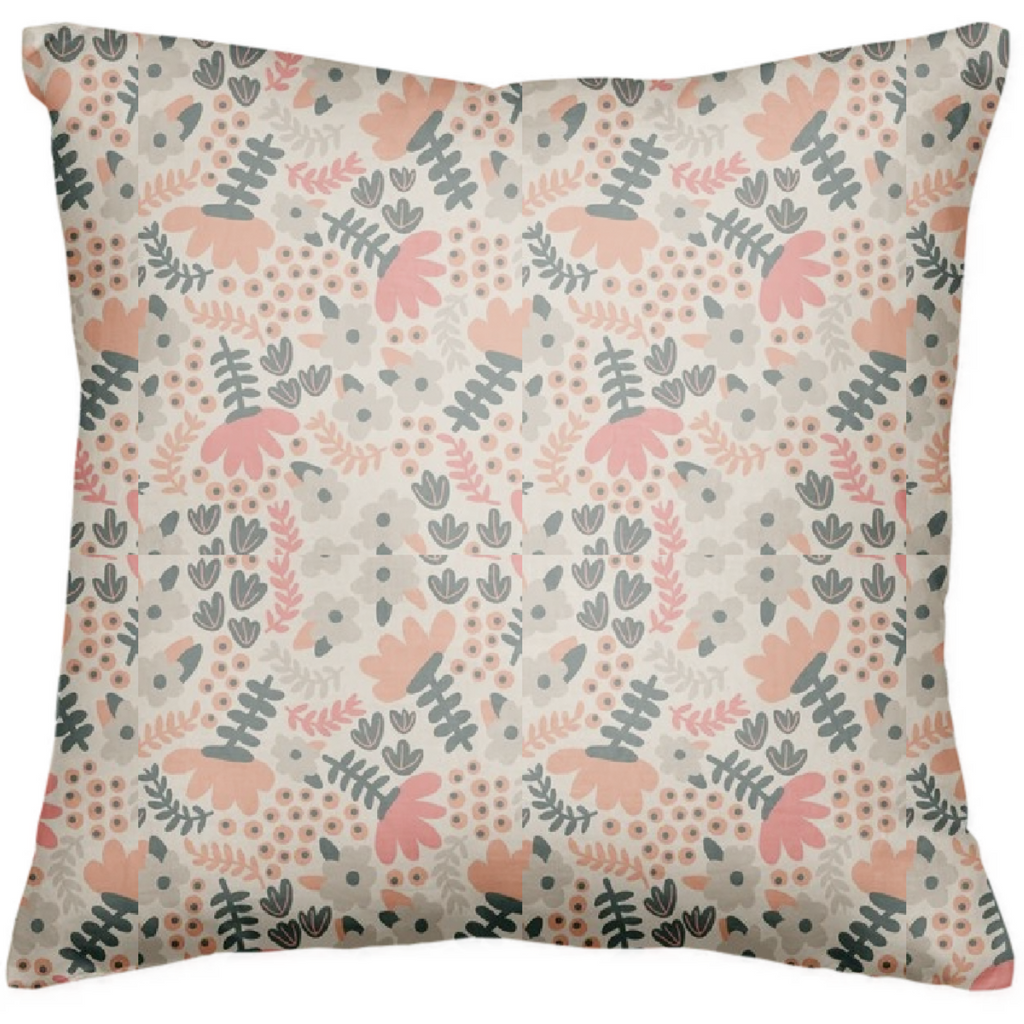 My Floral Designed Pillow