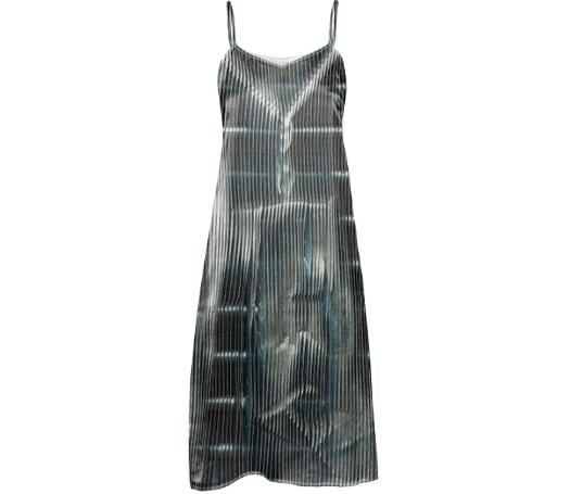 GRLZ SLIP DRESS in GRILLS