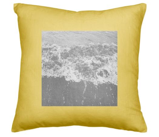 Yellow Backwash Pillow