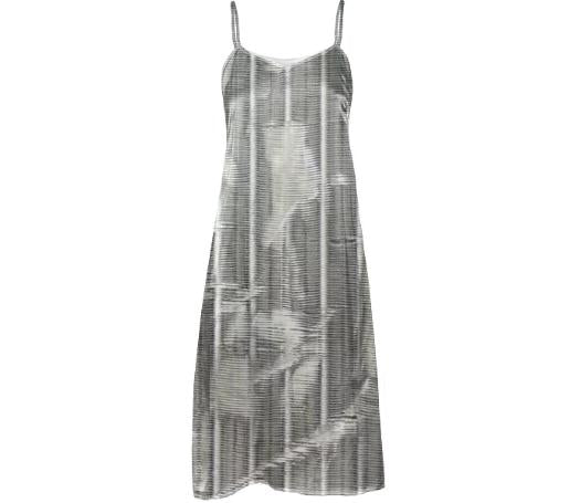 GRZL SLIP DRESS in RIPS