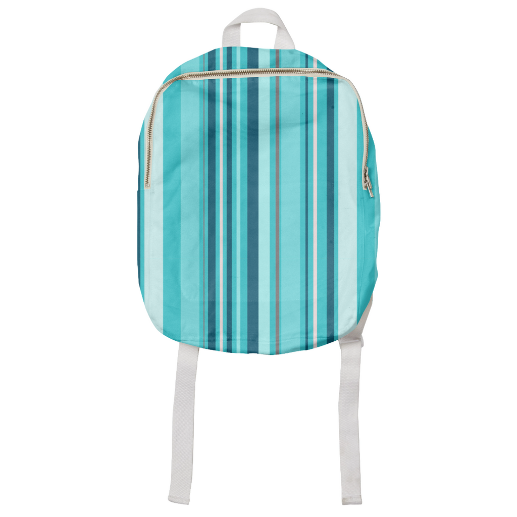 Blue Stripes Explosion Kids Backpack