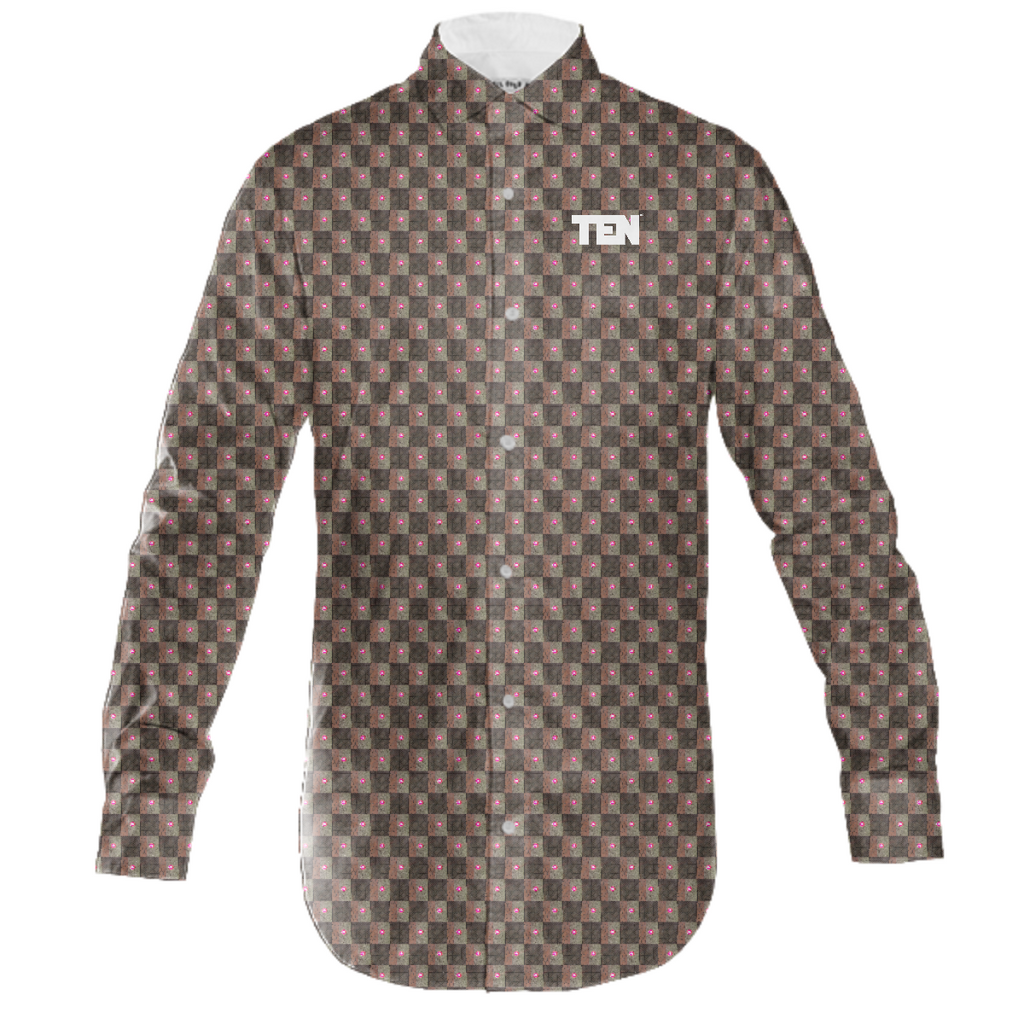 metro tarmac button down