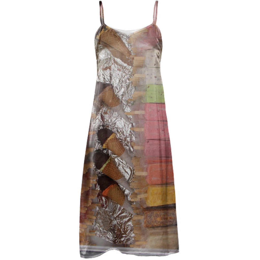 paletas, silk dress no. 3