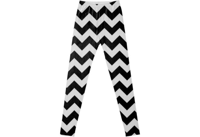 Black and White Chevron