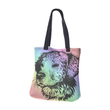 Rainbow Dog Bag