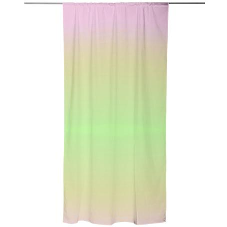 Watermelon Gradient Shower Curtain