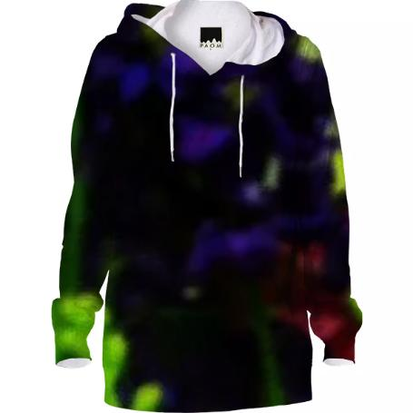 Abstract Bouquet Hoodie