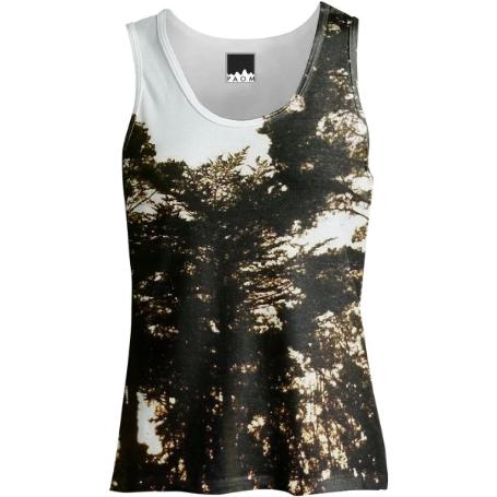 Trees at Dusk Tank Top