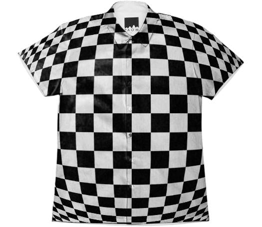 Optical illusion Short Sleeve Workshirt 2