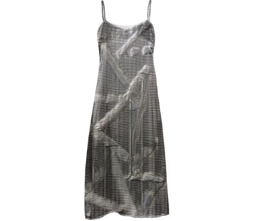 GRLZ SLIP DRESS IN SPILLS