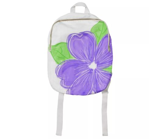 Purple Flowered Kids Pack