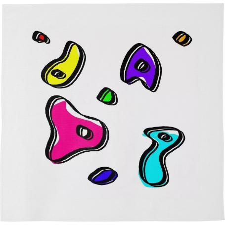 Vivid blobbies bandana