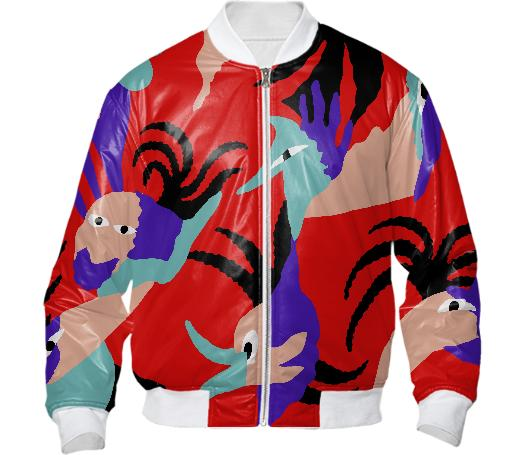 Birds of Paradise Bomber Jacket
