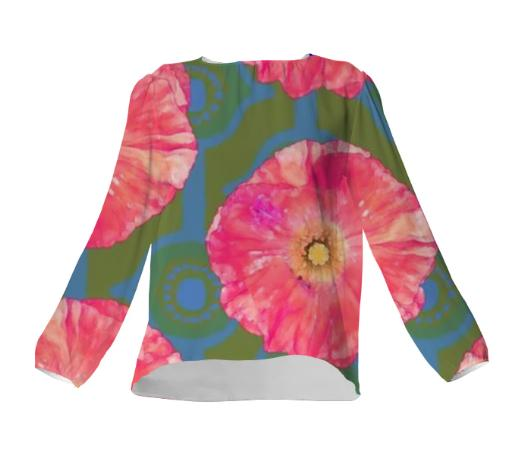 Frida Floral I Blouse