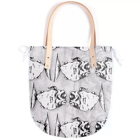 Something s Fishy Summer Tote