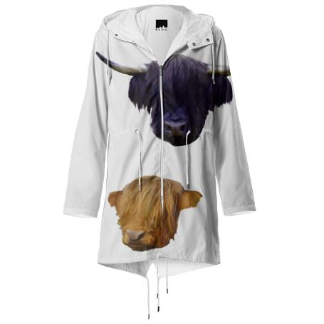 Cow Faces Raincoat